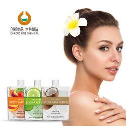 OEM Perzik Grapefruit Coconut Cosmetic Skin Care Moisturizing Body Cleaning Scrub met exfoliërende lichaamsszout