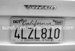 Geprägtes amerikanisches Auto-Kfz-Kennzeichen