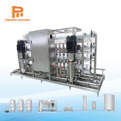 Automatic Hydranautics RO Suavizador de Agua de Osmosis Inversa Tratamiento del Sistema de purificación de Filtro purificador de fábrica de equipos para beber agua mineral de la línea de llenado