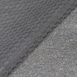 Melange Jersey TPU legato di lavoro a maglia del poliestere e tessuto polare del panno morbido del jacquard