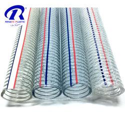 PVC acciaio filo tubo molla spirale tubo acqua mandata alimentare Tubo flessibile di aspirazione Grade tubo in plastica dell'acqua