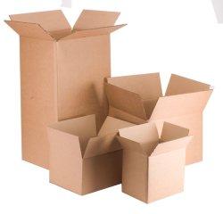 صندوق بيع مموج مخصص للتغليف وتسليم الكرتون الخاص بالشعار تغليف علبة سوداء من الورق المقوى
