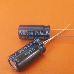 سعة إلكترونية للضوء 400 فولت/8.2 ألومنيوم