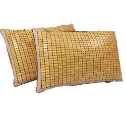 中国の製造業者のChunlongのブランドの夏の冷却のタケ首の枕カバー