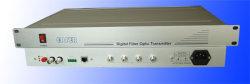 P2P de Radiodifusão Vídeo/Áudio de Banda Larga de TV Transceptor Óptico digital