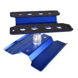 L'alluminio strumenti dell'Assemblea della scaffalatura della stazione di riparazione della piattaforma di manutenzione e monta per l'automobile di telecomando di RC (altezza registrabile)