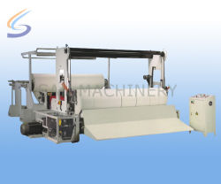 Papel higiénico Rolo jumbo corte longitudinal e máquina de Enrolamento