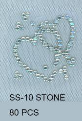 Acessórios de vestuário Halfround SS10 SS12 SS16 Rhinestud Pedra de Polígono Hot Fix Stone Palavras Maçãs Design Amor Hot Fix Motif Nailhead Rhinestone acrílico de Polígono