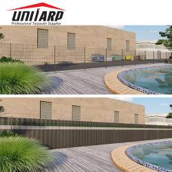Balcon Jardin Bande de protection des renseignements personnels clôture PVC double clôture décorative