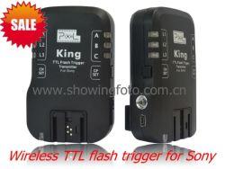 Pixel Rei Gatilho flash TTL sem fio para a Sony