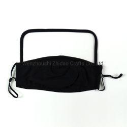 masker van het Gezicht van de manier het Opnieuw te gebruiken Wasbare, het Katoenen Masker van het Gezicht met het Gezicht Sheild van Pretect van het Oog