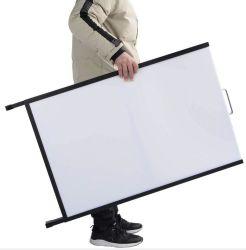 El hierro de alta calidad Double-Side titular de la señal de un marco soporte póster