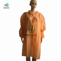 Il CE ha certificato il micro Protective&Breathable cappotto poroso monouso a gettare del laboratorio dei pp SMS per il medico, infermiera, ospite, ospedale, dentale, pulente
