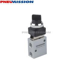 Pneumission высококачественные пневматические Jm серии 3/2 Поверните селектор механический ручной клапан