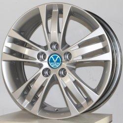 Реплики Car ободов 16X6.5 PCD для настольных ПК 5X108 Автозапчастей Hyper Silver легкосплавные колесные диски