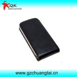 Переверните дизайн корпуса из натуральной кожи для сотового телефона Samsung Galaxy S3/I9300