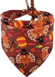 感謝祭犬の Bandana の落下はリバーシブルの三角形の bibs のスカーフの付属品をかえる 犬のために猫ペット