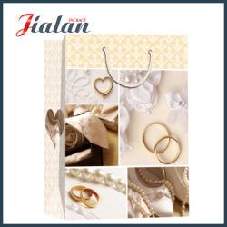 Hochwertige Hochzeitstasche Mit Recycling-Logo Und Maßgeschneidetem Papier