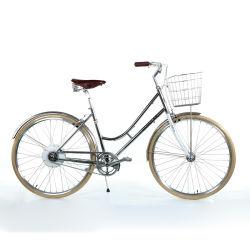 700c 통합 숙녀 E 자전거