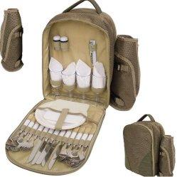 2 или 4 человек набор для пикника рюкзак охладителя напиток Ziplock Bag Rotomolded расширительного бачка радиатора охладителя коробки кемпинг назад Pack