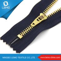 3 № 4 № 5 № a/L C/E Gold латунные зубов металлические молнии для джинсы