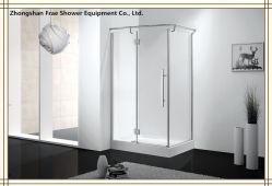 Душ петель из нержавеющей стали 304 Безрамные корпуса из закаленного стекла двери душ Душ экран душ Душ корпуса