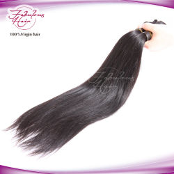 Les cheveux en usine le prix plein cuticule Remy droites cheveux européenne vierge
