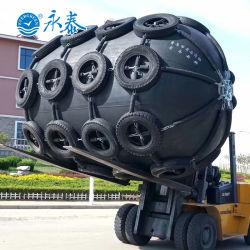 Tipo de Yokohama marinos Embarcaciones neumáticas del guardabarros de goma de neumático de China fabricante de marca