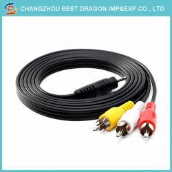 La producción en fábrica Cable AV Audio Video personalizado