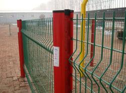 Plastikrahmen-Material und Fechten, Gitter u. Gatter-Typ Sicherheitszaun