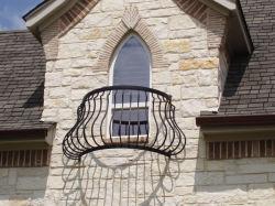 Nouveau design magnifique balcon décoratifs pour la vente de clôture