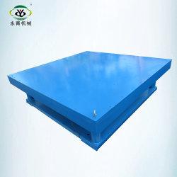 Mecánica mesa vibratoria para moldes de hormigón