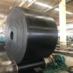 Industriales de alta resistencia de la correa transportadora de poliéster negro ep