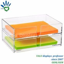 Affichage du compteur de support en acrylique pour dépliants Détenteur Détenteur/brochure