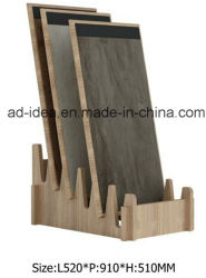 Настраиваемые дисплей из натурального дерева для установки в стойку/подставка для дисплея для Tile рекламы и выставки