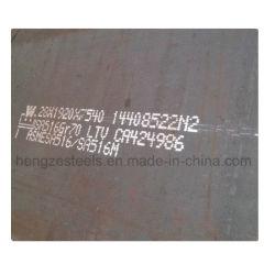 Les récipients à pression plaque en acier ASME SA515 Gr60 SA516 Gr70 Plaque en acier au carbone de grade de la chaudière