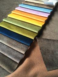 Starkes gedrucktes Verzerrung-strickendes Gewebe-Sofa-und Möbel-Polsterung-Gewebe des Holland-Samt-450GSM