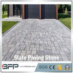 中国の床のための自然な石造りのタイルのスレートか壁または舗装するか、またはショールームのプロジェクト材料