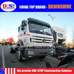 Tecnología de la marca Mercedes Benz Beiben NG80 4X2 Tráiler Jefe 340HP 336CV Rhd LHD 6 Tractor de ruedas de camión fabricado en China
