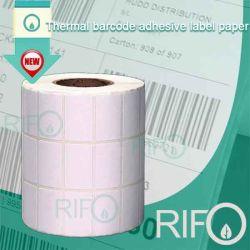 Adhesivo blanco materiales basados en la pegatina de transferencia térmica con RoHS MSDS