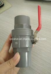 Фотографии и 2ПК поливных вод из ПВХ трубы клапана с медной ручкой