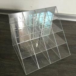 Présentoir acrylique miroir unique pour les bijoux accessoire