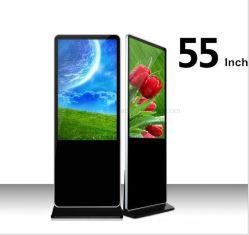 Volledige Grote TV HD die van Yashi 55inch Digitale Signage, LCD de Vertoning van de Kiosk van het Scherm adverteren
