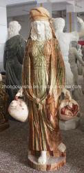 Jardim Ornament Escultura Marble Espeleologia Estátua feminina