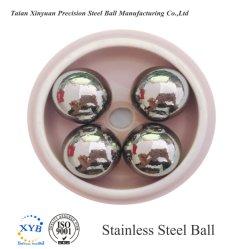 Piccola sfera dell'acciaio inossidabile da 1/16 di pollice SS304 per l'estetica, cuscinetti, monili