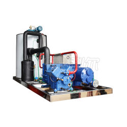Lier Large Size Seawater Scale Ice Maker Flake Ice Making Machine for Fishing Shore 、 Water Cooling 、 R404A