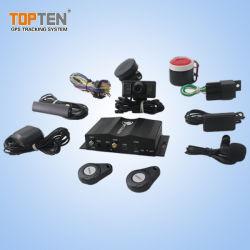 4G 3G 2g GPS Tracker Auto-Alarm Geschwindigkeitsbegrenzer Kraftstoffsensor Crash Alarm Support Mikrofonkamera (TK510-KH)