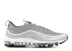 Bestes maximales 97 Schuh-laufende Schuh-Sport-Turnschuh-Silber