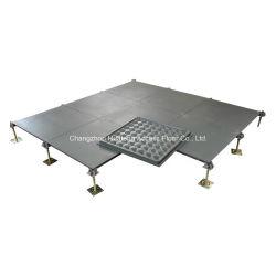 600/610 di pavimento di accesso alzato acciaio con rivestimento nudo
