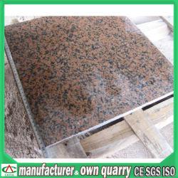 Cheap losas de granito pulido azulejos materiales edificio de piedra natural